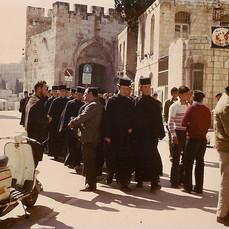 Priests in Jerusalem, Israel