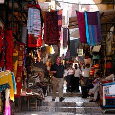 Strolling in the Market, Jerusalem, Israel