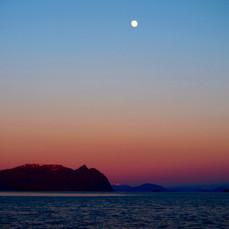 Glowing Seascape, Alaska