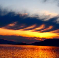 Sunset, Alaska