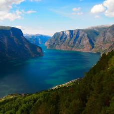 Fjord Scene, Norway