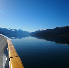 Blue Day in the Fjord, Alaska