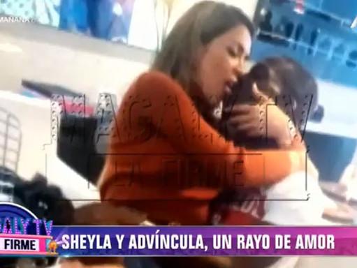 REVELAN FOTO DE SHEYLA ROJAS Y LUIS ADVÍNCULA BESÁNDOSE