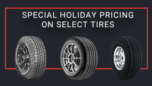 Tires as Low as