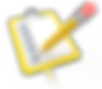 pencil_draw_checkmark_yellow_clipboard_8
