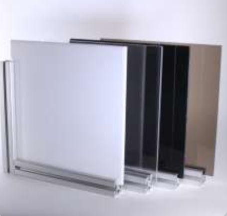 "T-slots 655429  3/16"" Black Acrylic Panel"