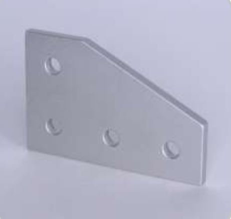 T-slots 653182  4 Hole 90 Degree Joining Plate