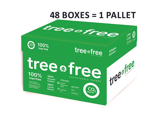 TreeFree Copy Paper / 40 Box-Pallet