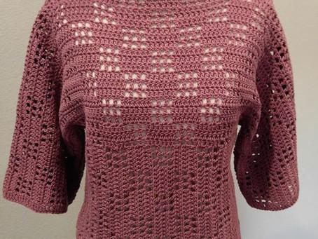 Lilac Boho Sweater