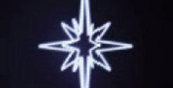 "59"" Star Tree Topper"