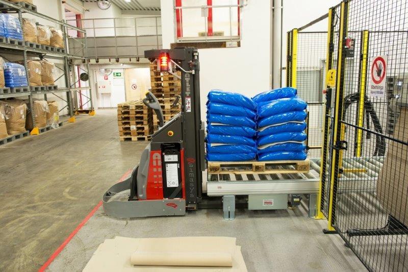 palettisation emballage logistique