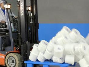 Seaux plastiques alimentaires : comment stabiliser ses palettes et éviter une contamination