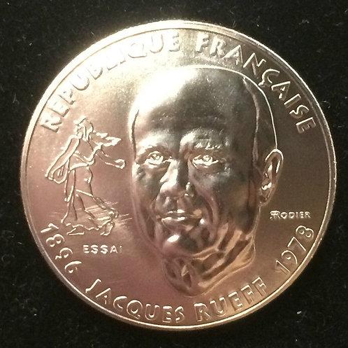 ESSAI 1 franc Jacques RUEFF