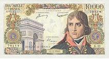 Billets de banque pour collectionneurs (Bonaparte, 1000 F)