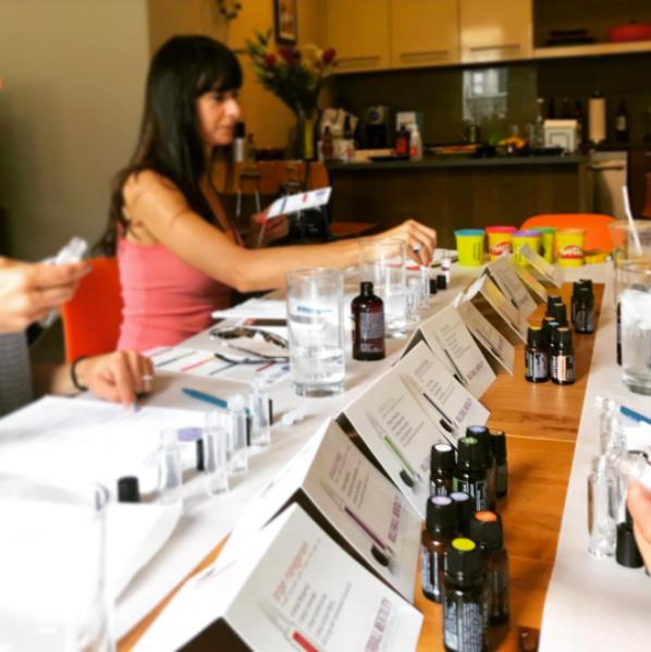 How do I host an essential oils class?