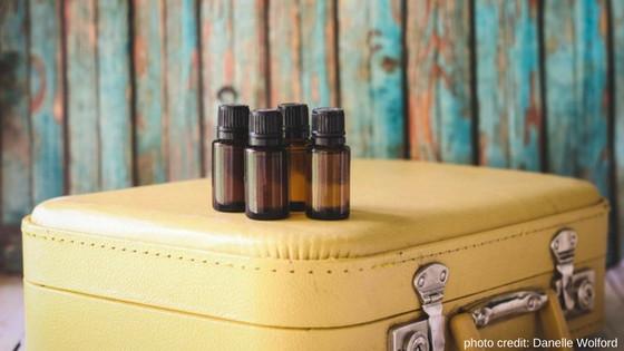 DIY travel sized essential oils