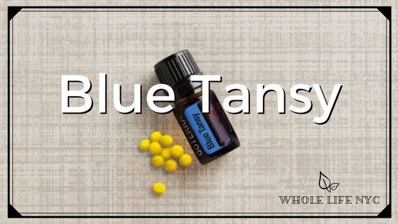 Essential Oil Spotlight: Blue Tansy