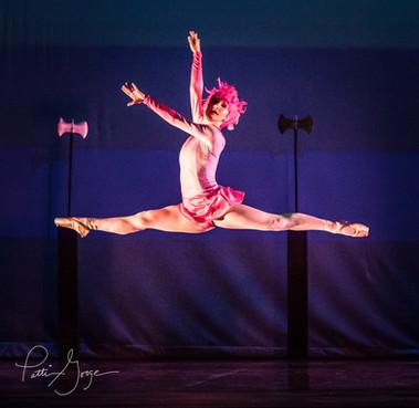 Flying Flamingo