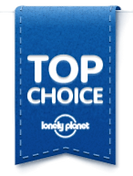 Top Choice Lonely Planet Logo