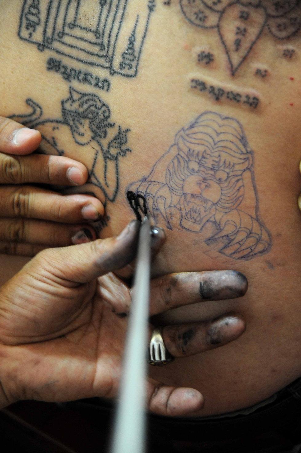 Tattoo Thailand Photo
