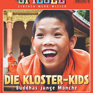 The Monk for Dein Spiegel, Luangprabang, Laos