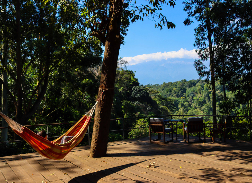 Hammock at The Deck Kaliwa Lodge