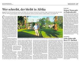Article Stuttgarter Zeitung Kaliwa Lodge