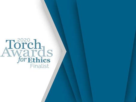 2020 Torch Award Finalist!