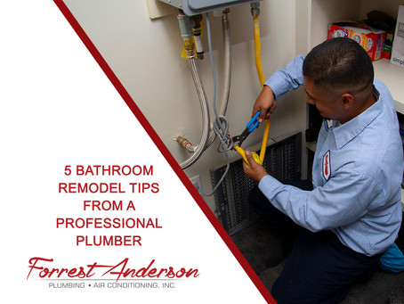 5 Bathroom Remodel Tips From A Professional Plumber