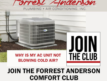 Wondering why your Air Conditioner is Not Blowing Cold Air in Phoenix, Arizona - Join The Club!