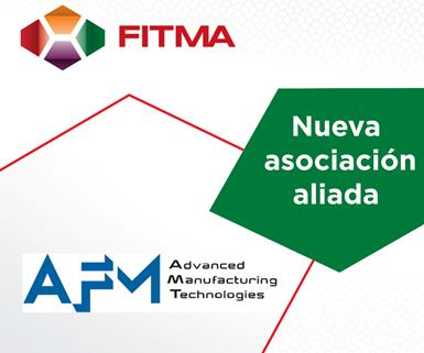 Asociación Española de Máquinas-Herramienta (AFM) se asocia a FITMA