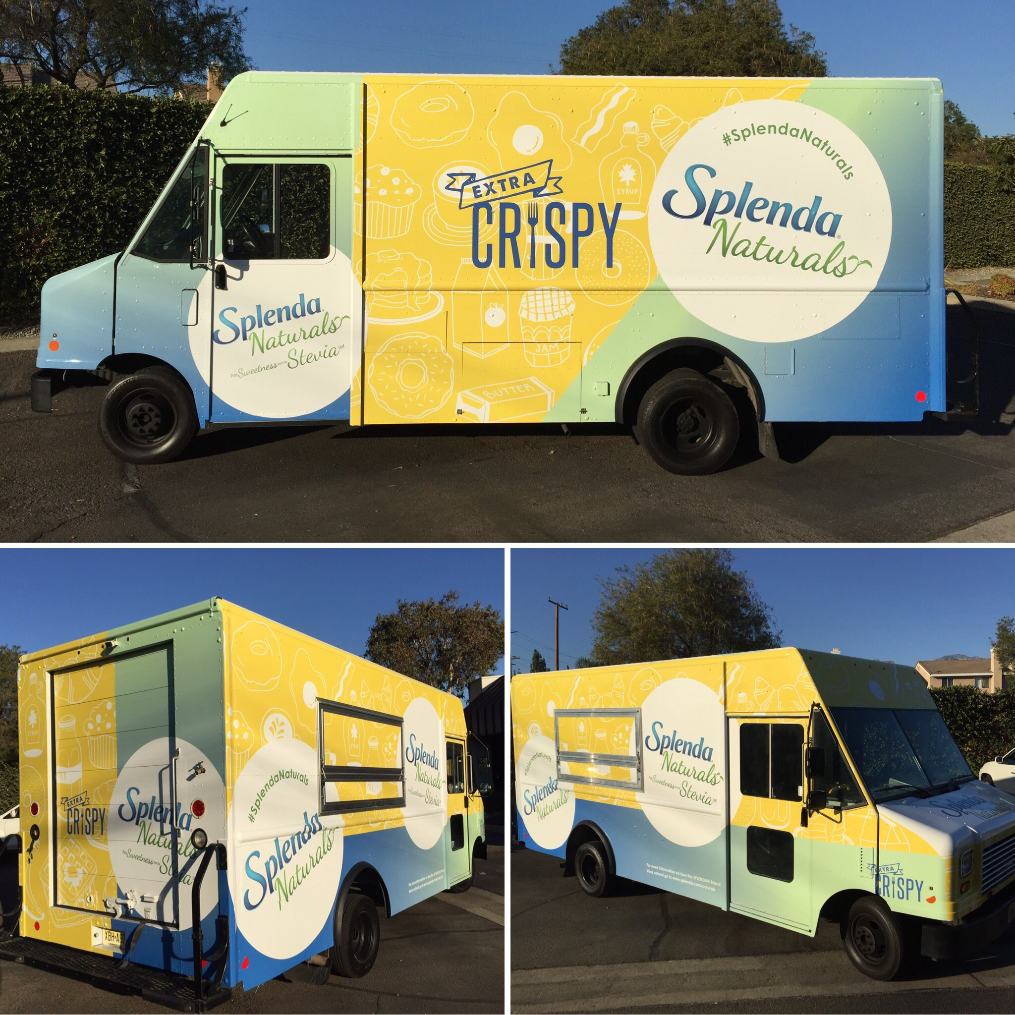 Splenda Food Truck Wrap