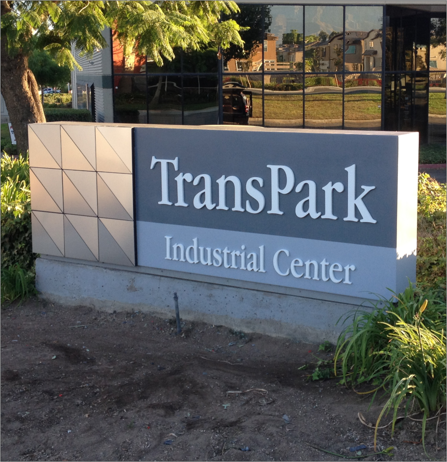 TransPark Industrial Center - Mounument Sign