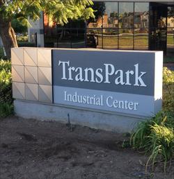 TransPark Industrial Center - Mounument Sign