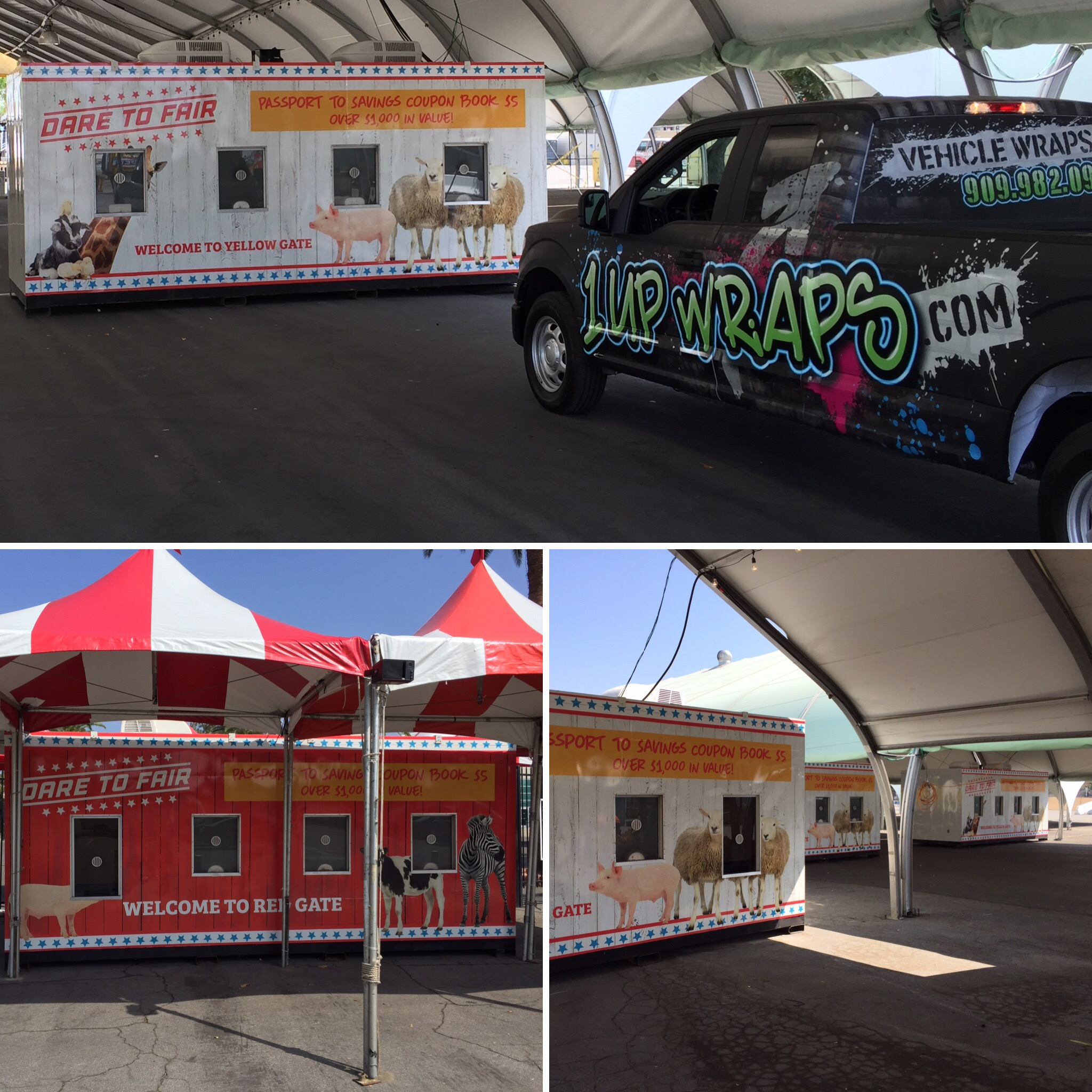 LA County Fair Booth Wraps