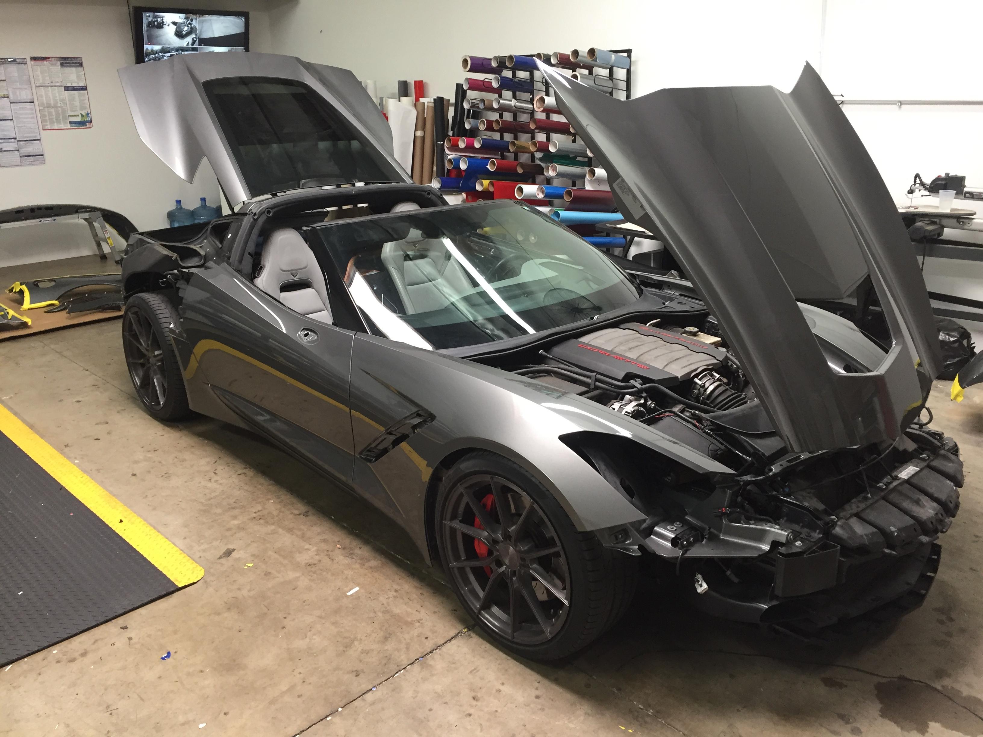 Corvette Color Change
