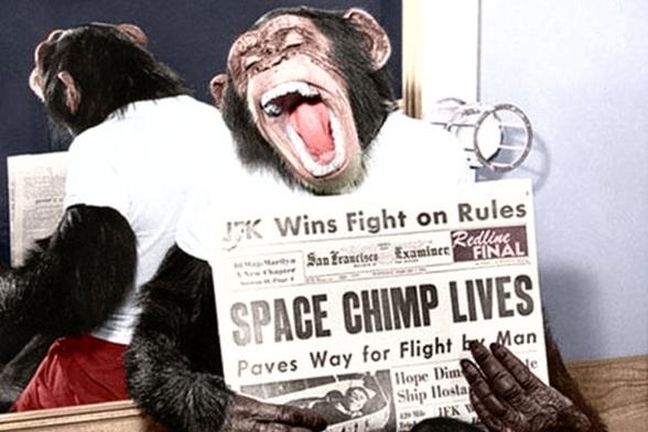 Enos the Chimpanzee - 1961