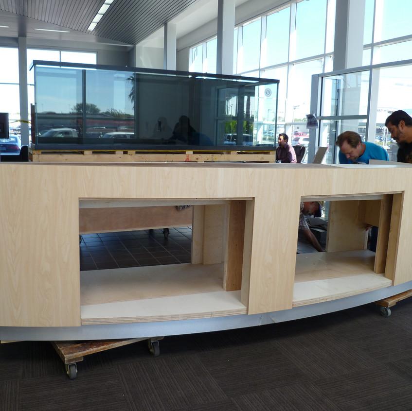 4-Transfer of Aquarium to Stand