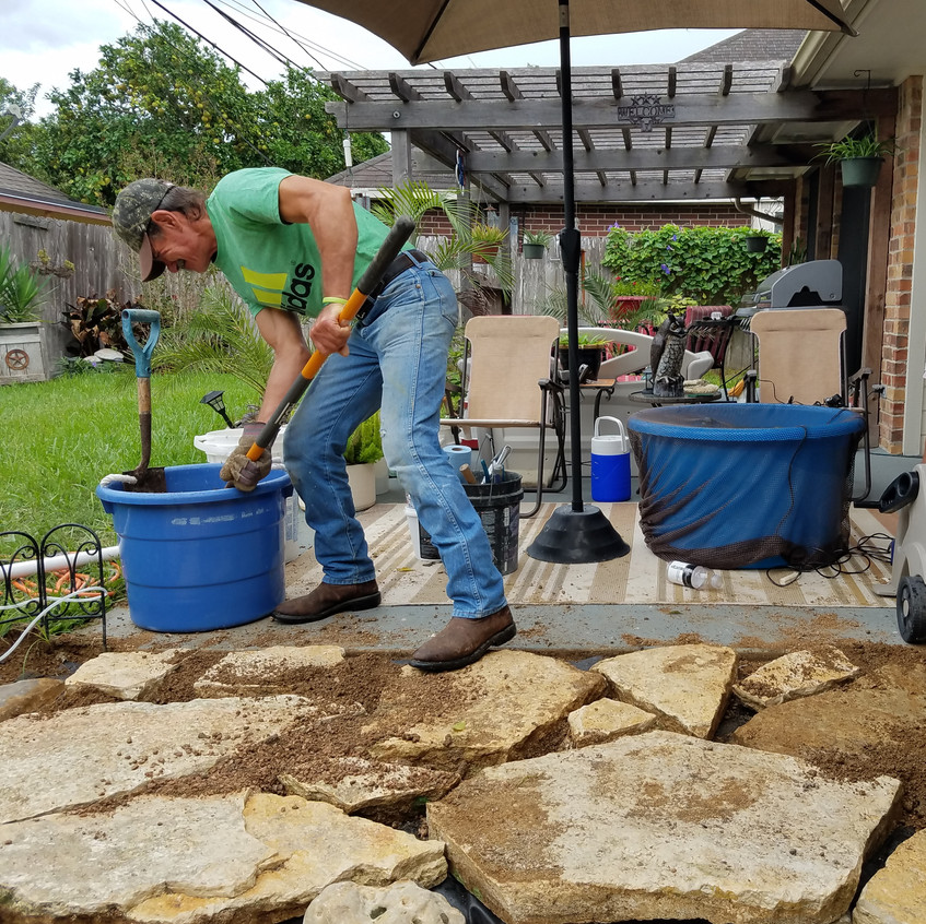 23-Laying the FlagStone