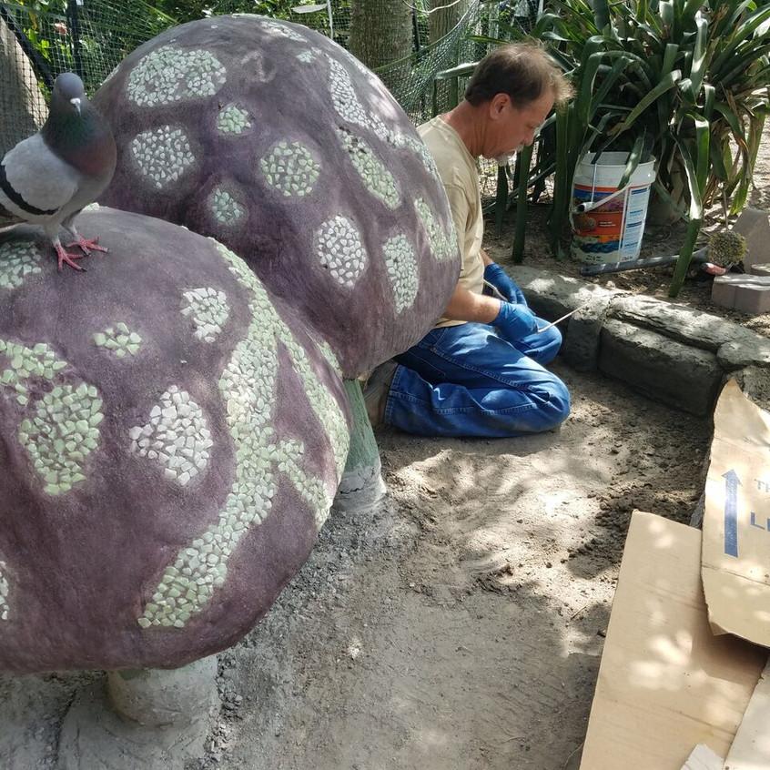 15-Creating Stone Border