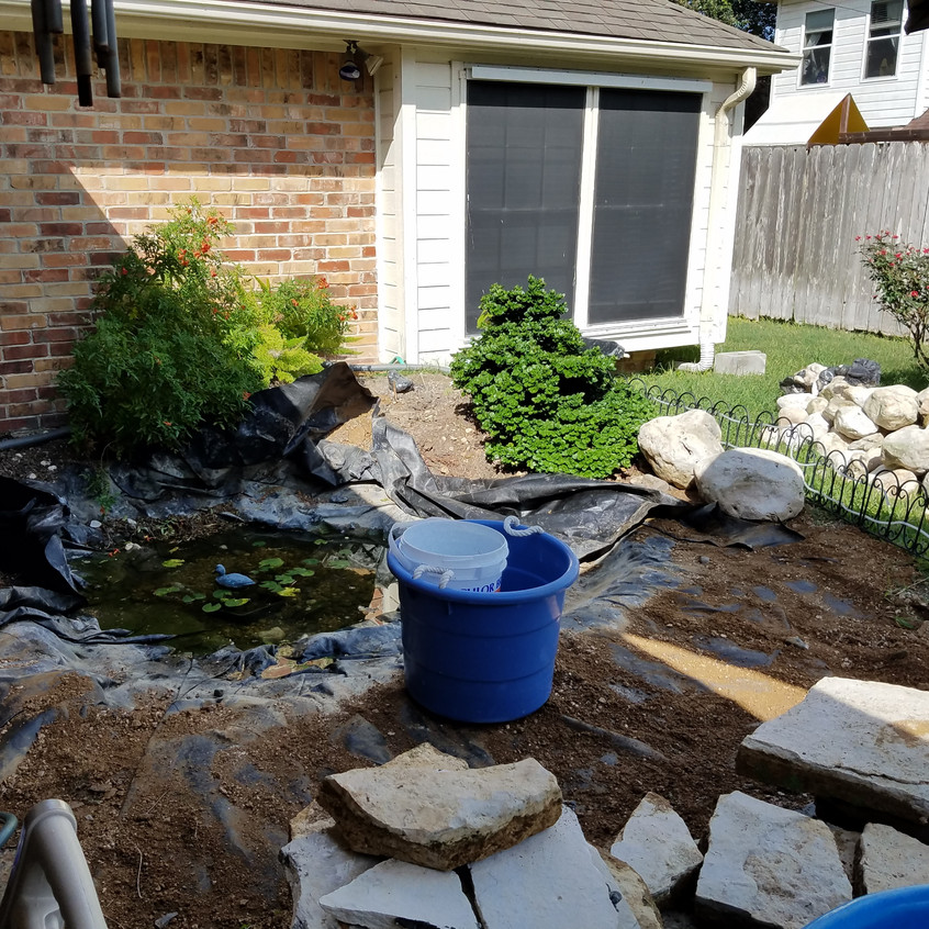 6-Removal of Rock and Existing Filtration System