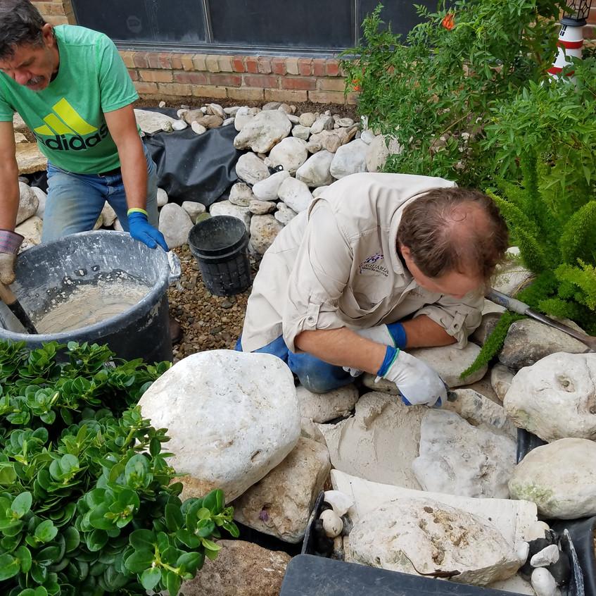 29-Mortaring the WaterFall
