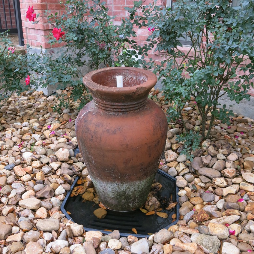 1-Disappearing Fountain in Need of Repair