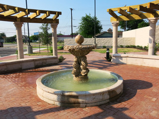 Robstown City Hall Fountain Installation