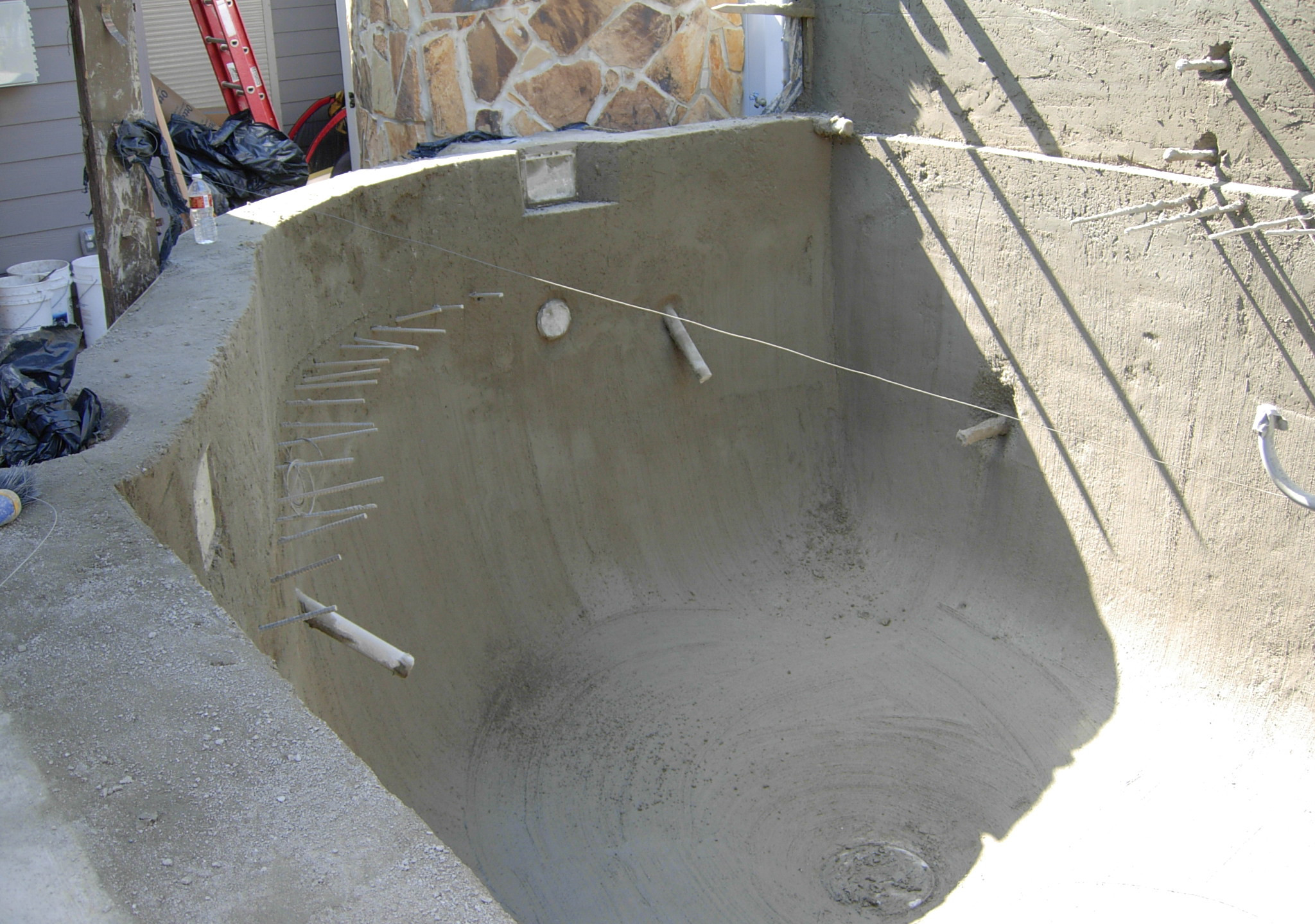 22-Finished Concrete Pond Shell