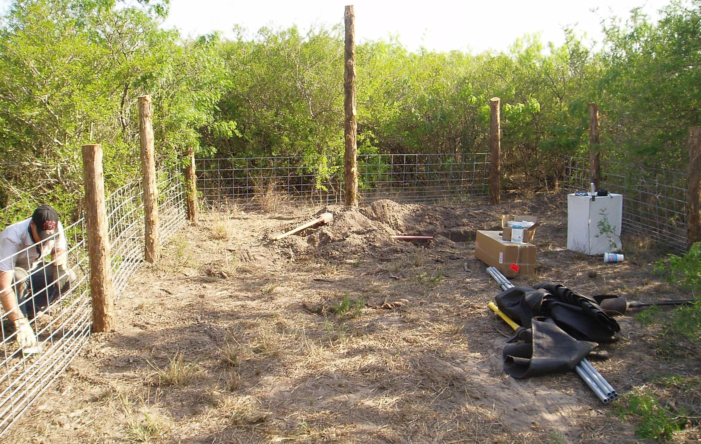 9-Finishing Panels & Digging Hole