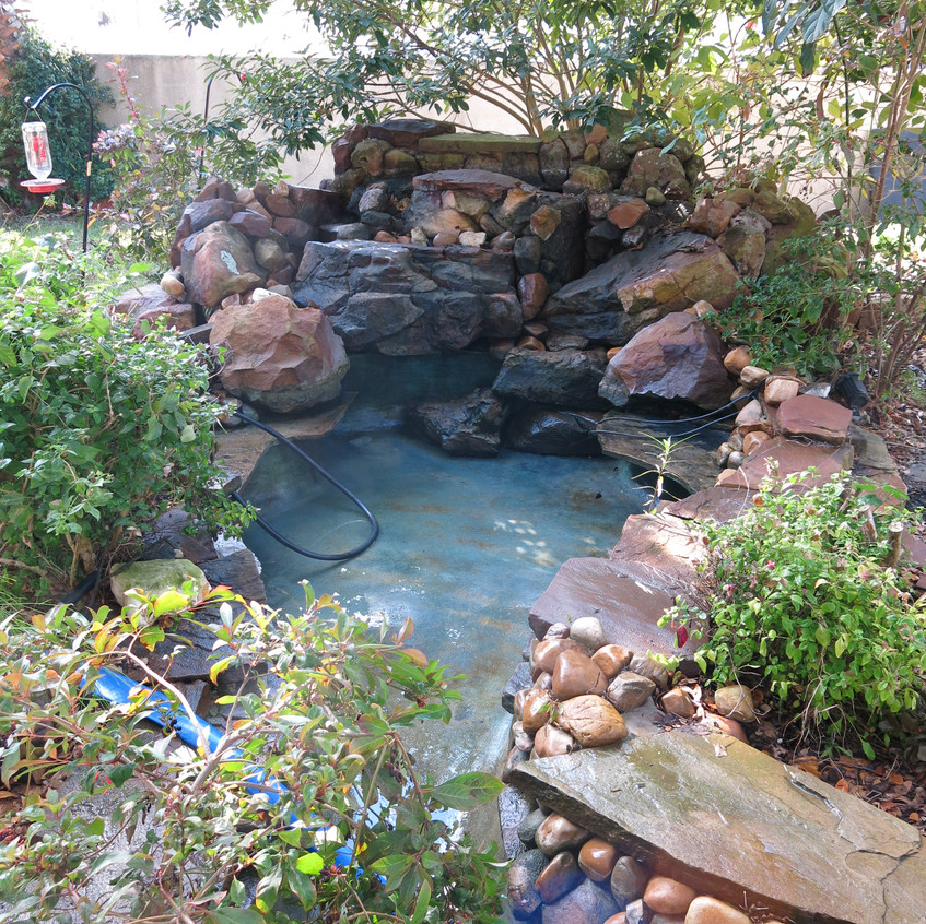 7-Cleaned Water Feature