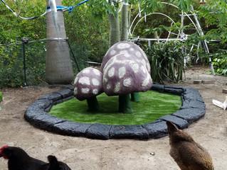 Functional Yard Art!