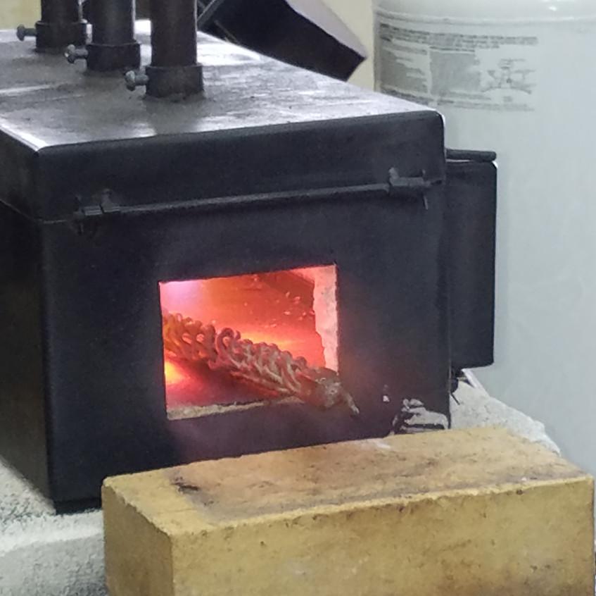 2-Heating the Metal