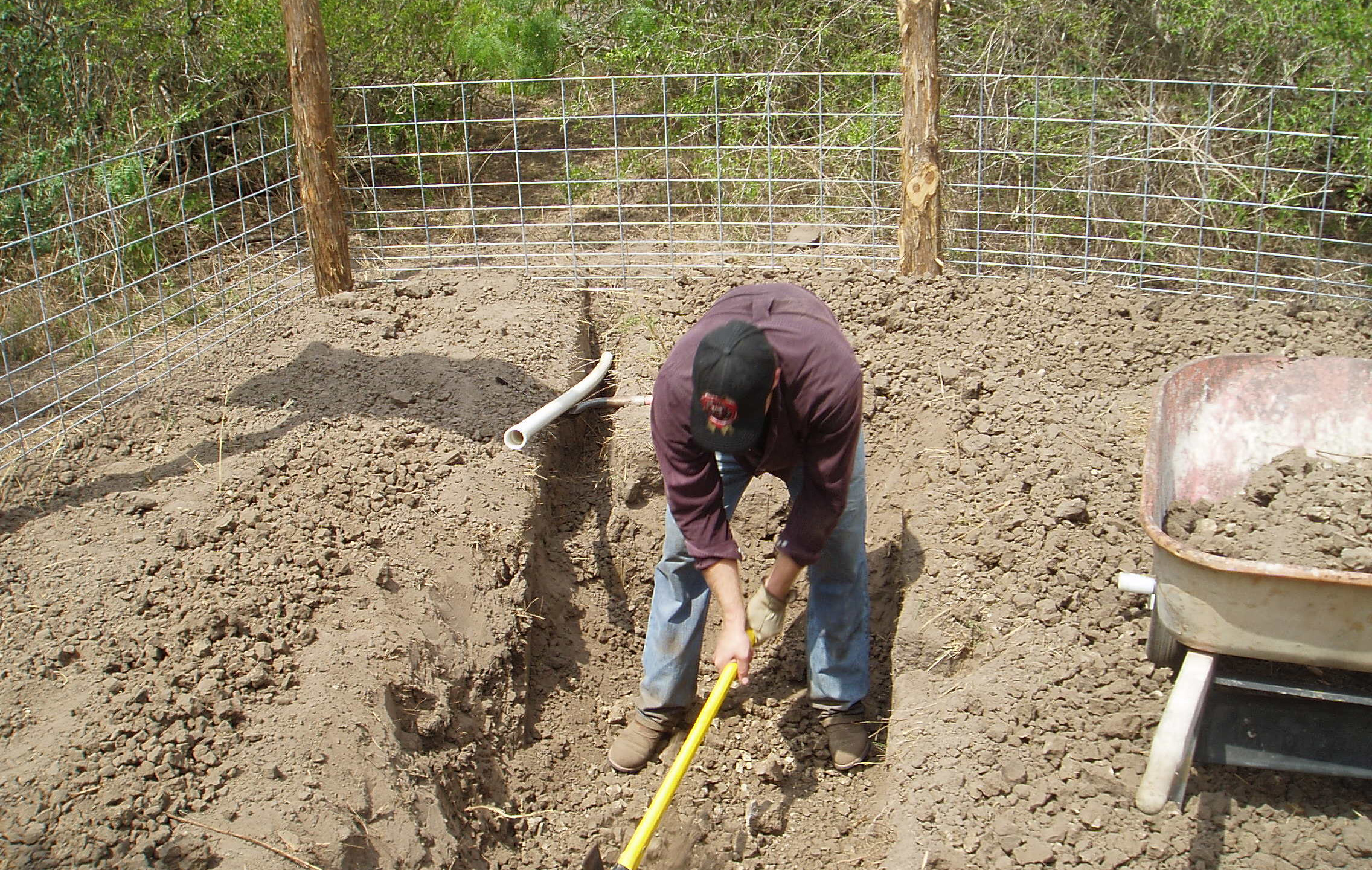 4-Trenching for Plumbing